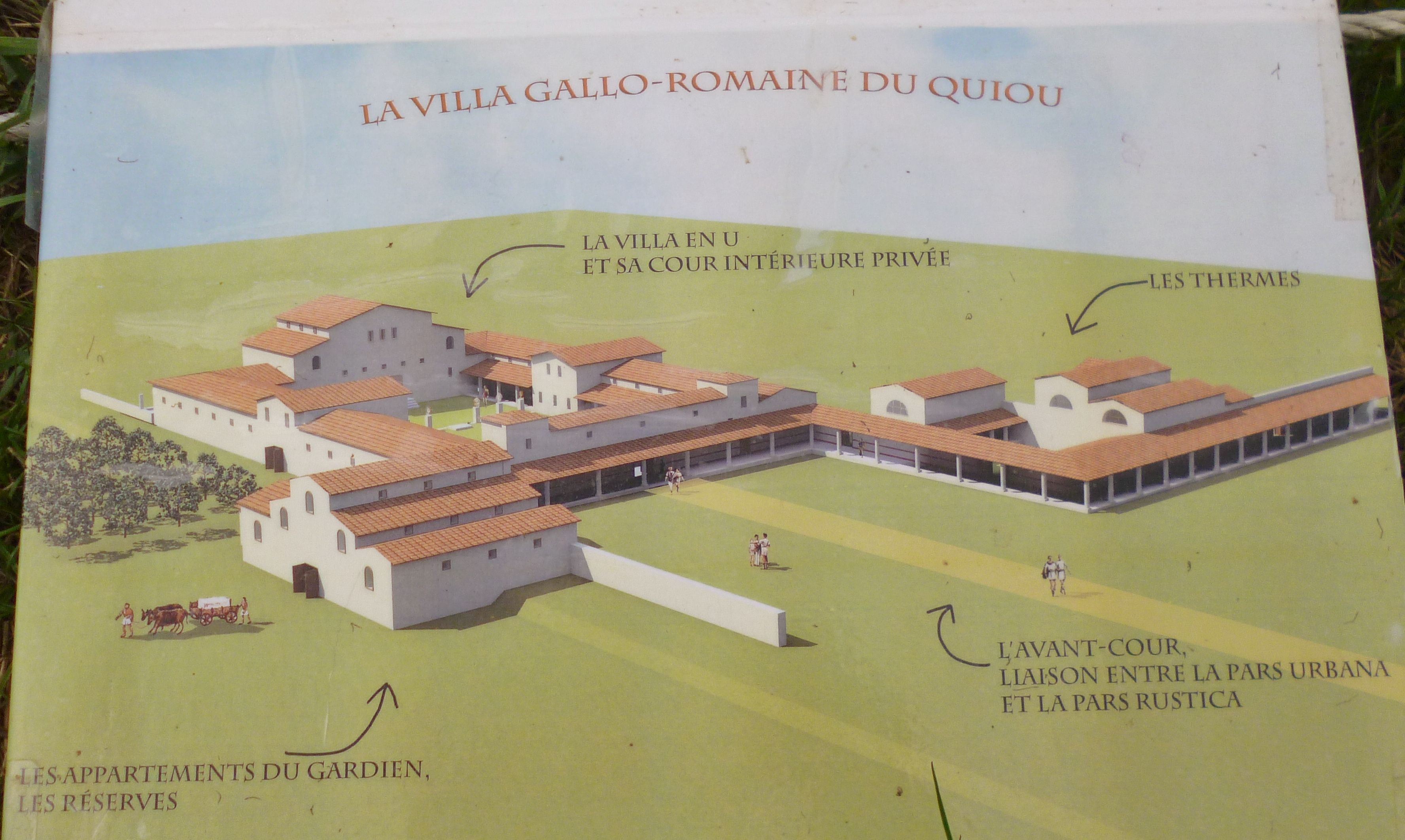 Plan Ville Gallo Romaine